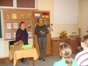 Spotkanie z pisarką Zofią Redlarską